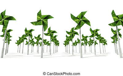 Windmill Wind Energy Farm - An energy producing farm...
