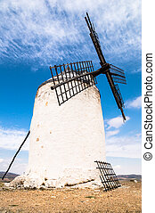 windmills in Consuegra, Spain