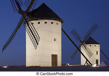 Windmills of La Mancha - Spain