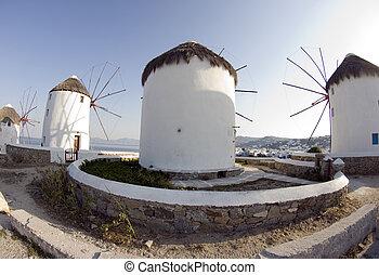windmolen, mykonos