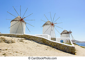 windmolen, mykonos