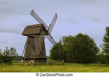 windmolen, ouderwets