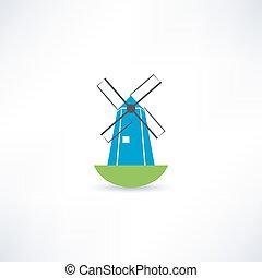 windmolen, pictogram