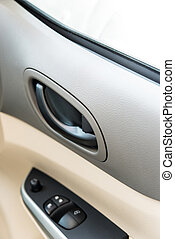 Window and mirror control panel