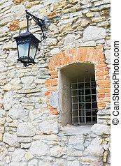 window and streetlight