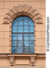 Window arch.