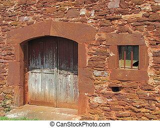 Window, Barn, door