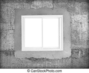 Window cement wall