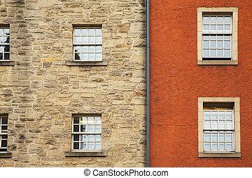 Window detail Edinburgh