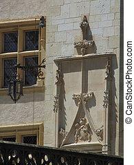 Window, door, castle, Martory