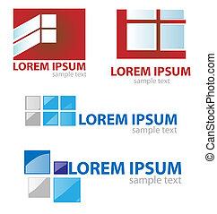 window & door symbol set