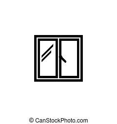 Window Flat Vector Icon