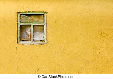 window frame old wall street texture background
