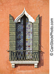 Window from Venice, Italy