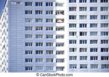 Window front skyscraper - The window front of a skyscraper...