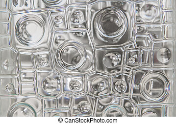 Window glass texture abstract pattern for background