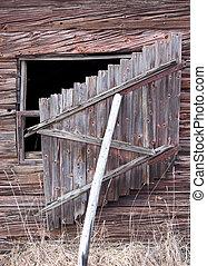 Window hatch - Wooden window hatch