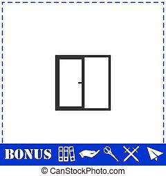 Window icon flat