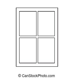 window frame vector clipart illustrations 14 200 window frame clip rh canstockphoto com Window Clip Art white window frame clipart