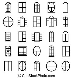window icon set