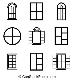 window icon set