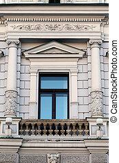window in a building