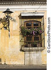 Window in Antigua, Central America