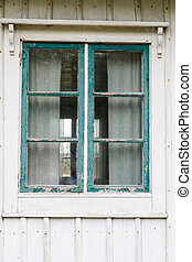 Window in need of painting