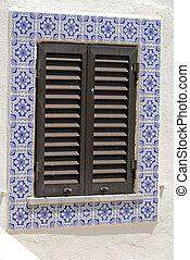 window in Portugal