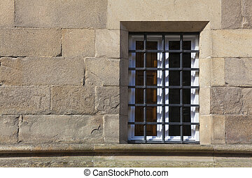 Window in Salamanca, Castilla y Leon, Spain