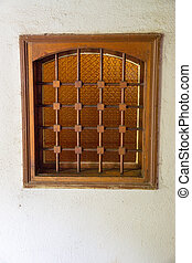 Window in the monastery cell Bachko