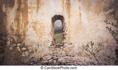 Window in the wall