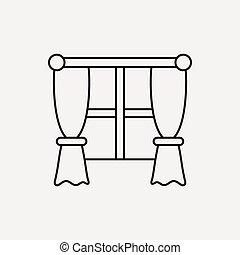 window line icon