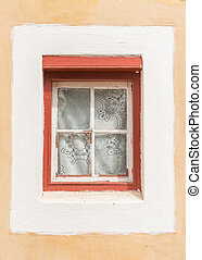 Window of a parsonage in Genadendal