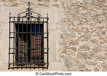 Window of Avila, Castilla y Leon, Spain