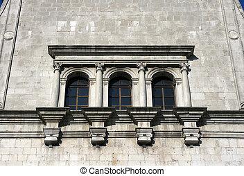 Window of church, Cividale del friuli - Italy