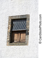 window of cottage