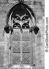 Window of temple