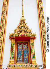 window of temple thailand