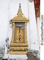 window of Temple, Wat Pho