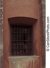 Window on a church in Lviv