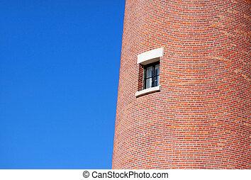 Window on a light house