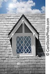 Window on house