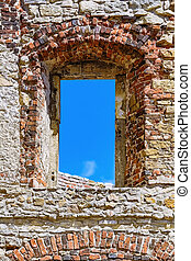 Window Opening of the Old Castle