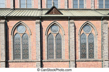 Window pattern of Cathedral church 3