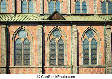 Window pattern of Cathedral church 4