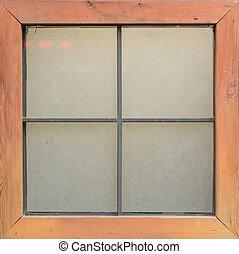 window pattern vintage style