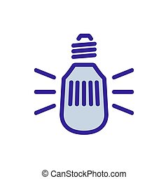 window screen icon vector outline illustration