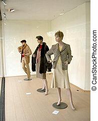 Window shopping, fashion. - Window display of the latest ...