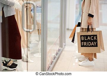 Window Shopping on Black Friday